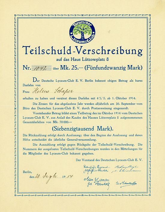 Deutscher Lyceum-Club e. V.