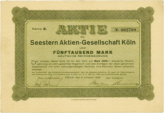 Seestern Aktien-Gesellschaft Köln