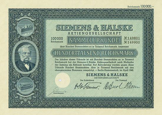Siemens & Halske AG [4 Stück]
