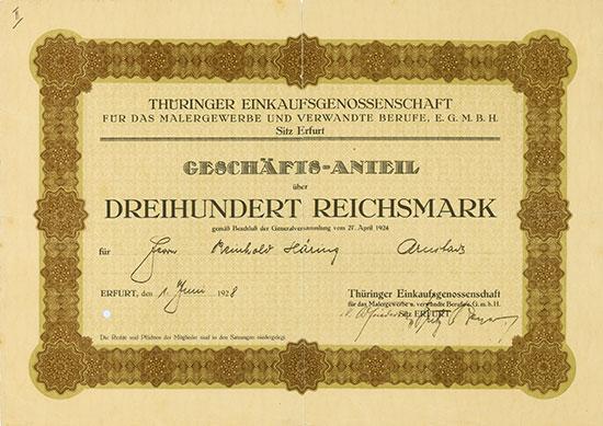 Thüringer Einkaufsgenossenschaft für das Malergewerbe und verwandte Berufe eGmbH