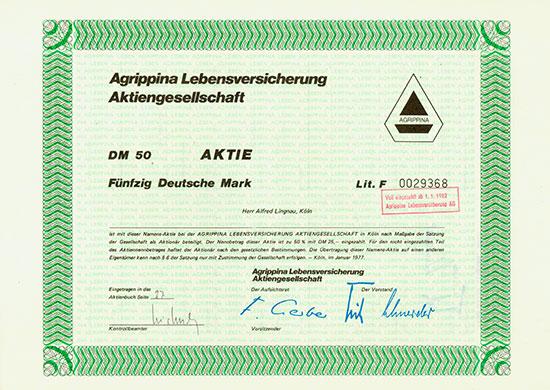 Agrippina Lebensversicherung AG