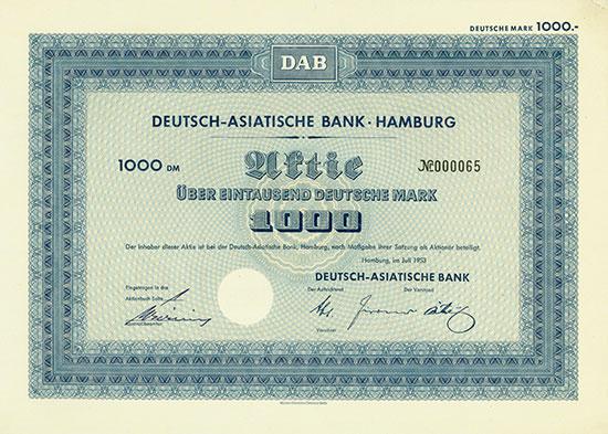 Deutsch-Asiatische Bank