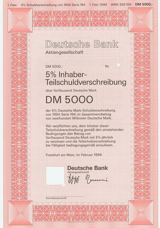 Deutsche Bank AG [2 Stück]