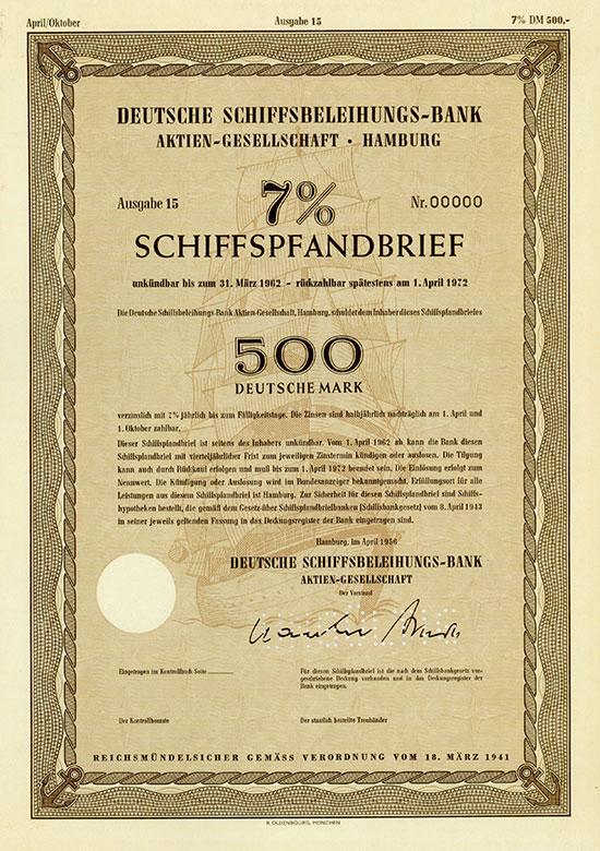 Deutsche Schiffsbeleihungs-Bank AG