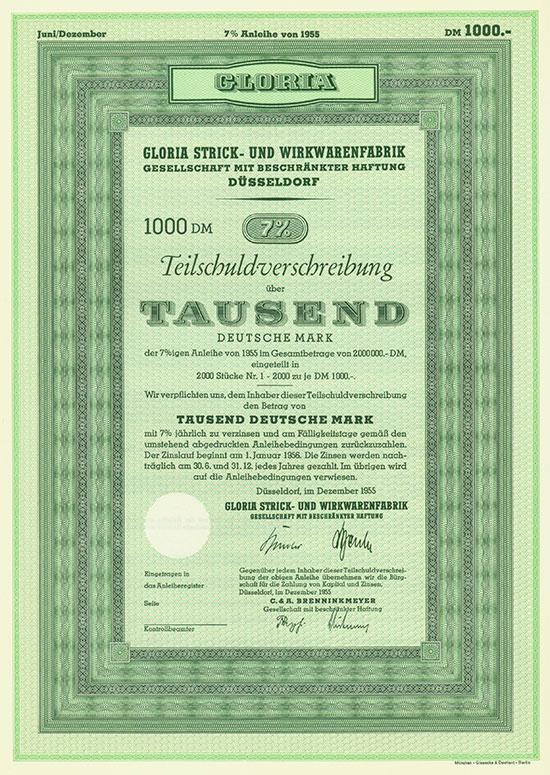 Gloria Strick- und Wirkwarenfabrik GmbH