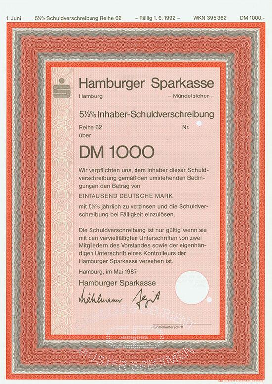 Hamburger Sparkasse [3 Stück]