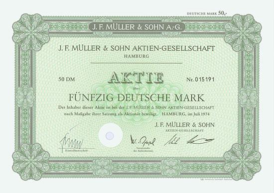 J. F. Müller & Sohn AG