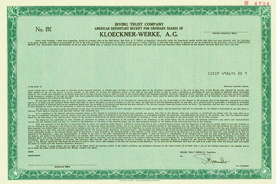 Kloeckner-Werke A.G.