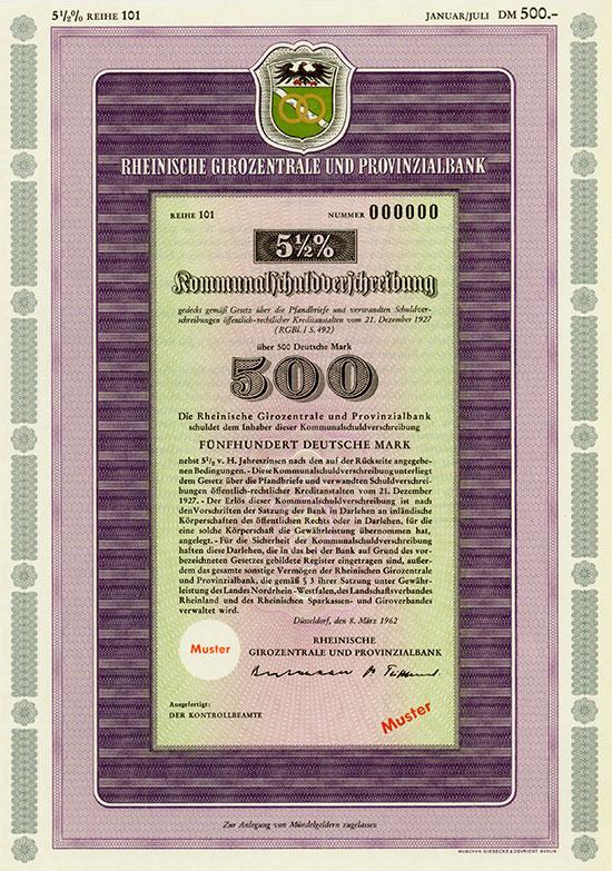 Rheinische Girozentrale und Provinzialbank