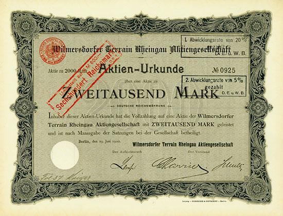 Deutschland-Aktien Altbestand [18 Stück]
