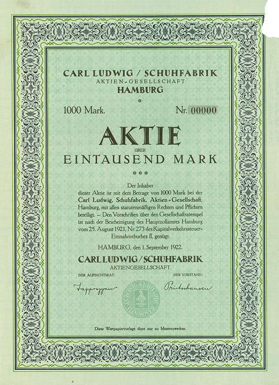 Carl Ludwig / Schuhfabrik AG
