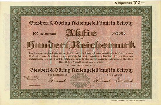 Giesbert & Döring AG