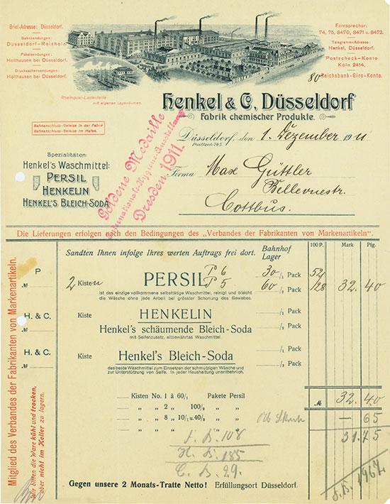 Henkel & Co. Fabrik chemischer Produkte