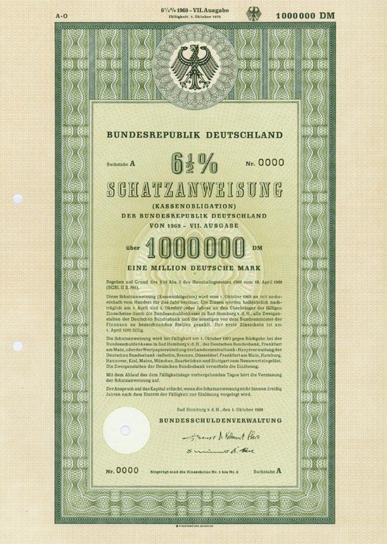 Bundesrepublik Deutschland - Kassenobligationen [116 Stück]