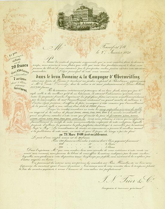 J. N. Trier & Co. / dasn le beau Domaine & la Campagne d'Obermeidling