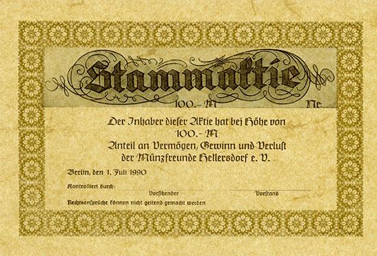 Münzfreunde Hellersdorf e. V.