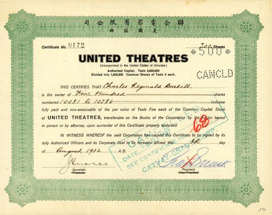 United Theatres