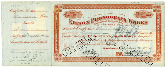 Edison Phonograph Works