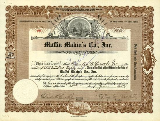 Muffin Makin's Co. Inc.