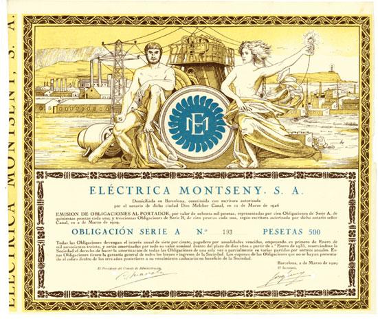 Eléctrica Montseny S. A.
