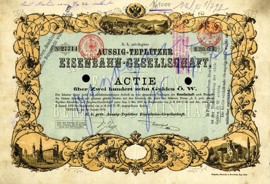 K. k. privilegirte Aussig-Teplitzer Eisenbahn-Gesellschaft
