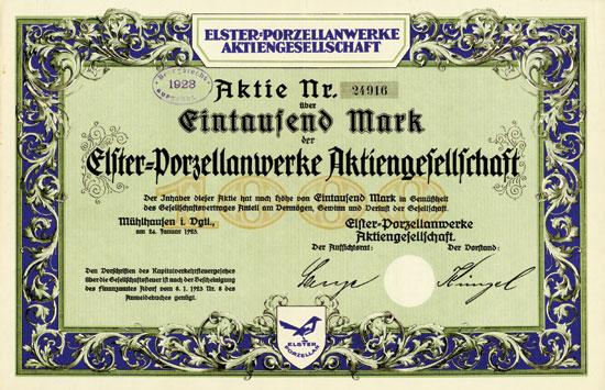 Elster-Porzellanwerke AG