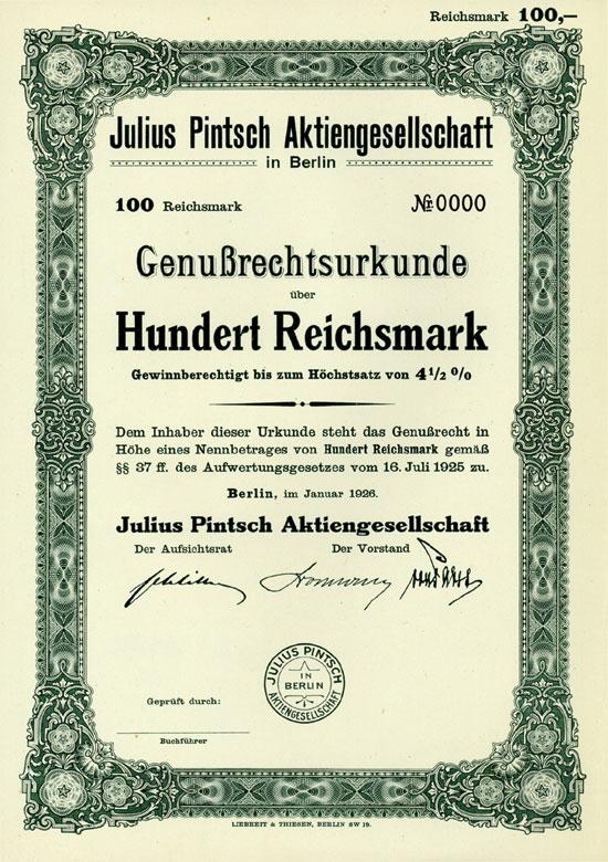 Julius Pintsch AG