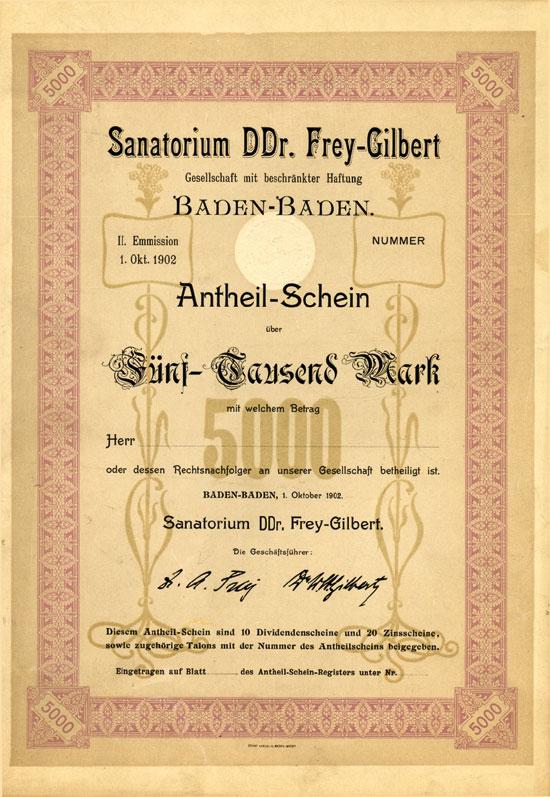 Sanatorium DDr. Frey-Gilbert mbH