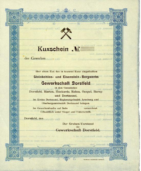 Steinkohlen- und Eisenstein-Bergwerk Gewerkschaft Dorstfeld