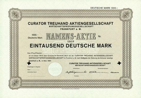 Curator Treuhand AG Wirtschaftsprüfungsgesellschaft