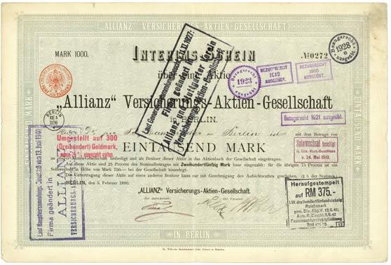 """Allianz"" Versicherungs-AG"