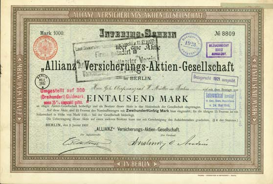 """Allianz"" Versicherungs-AG"