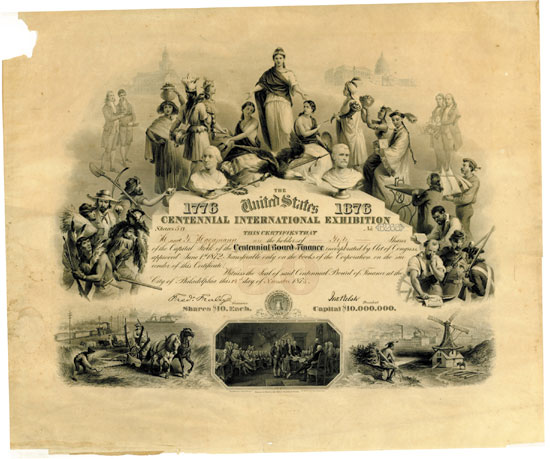 Centennial International Exhibition (Centennial Board of Finance)