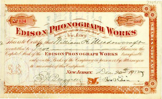Edison Phonograph Works