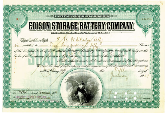 Edison Storage Battery Company