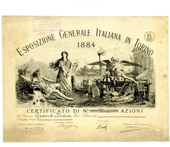 Esposizione Generale Italiana in Torino 1884
