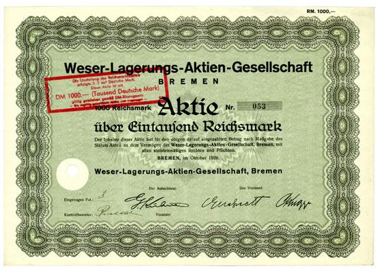 Weser-Lagerungs-AG, Bremen