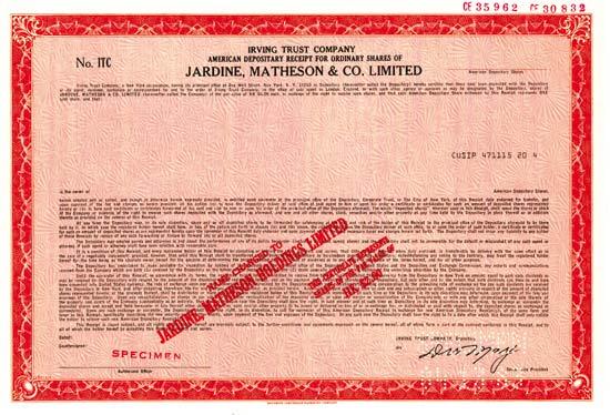 Jardine, Matheson & Co. Limited