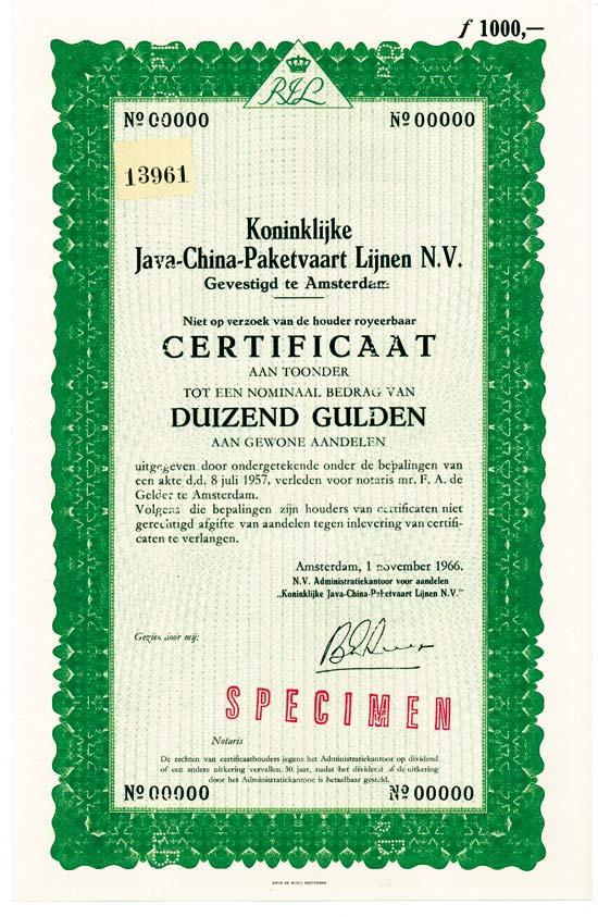 Koninklijke Java-China-Paketvaart Lijnen N. V.