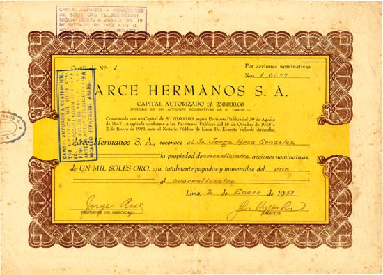 Arce Hermanos S.A.