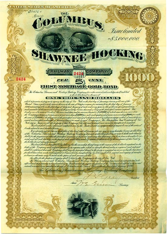 Columbus, Shawnee and Hocking Railway Company