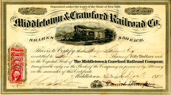 Middletown & Crawford Railroad Co.