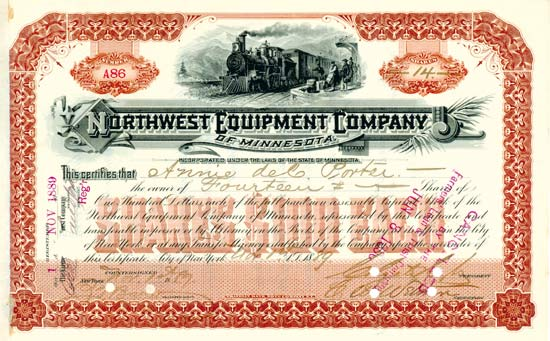 Northwest Equipment Co. of Minnesota