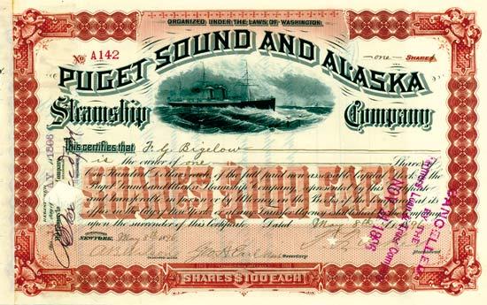 Puget Sound & Alaska Steamship Company
