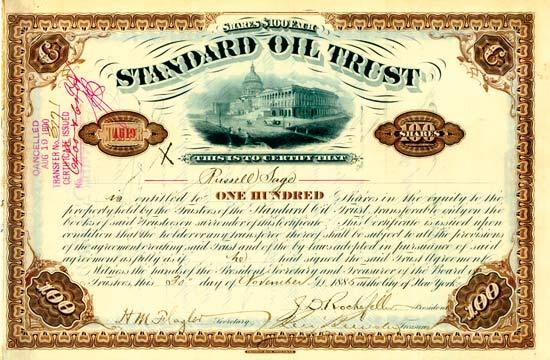 Oil Aktien