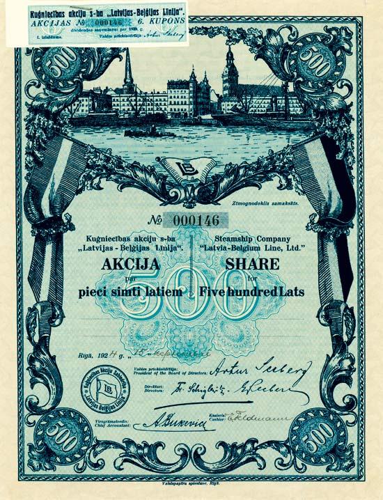 "Steamship Company ""Latvia-Belgium Line, Ltd."""